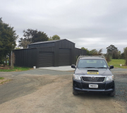 ITM Barn Shed in Black