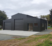 ITM American Barn Shed in Black