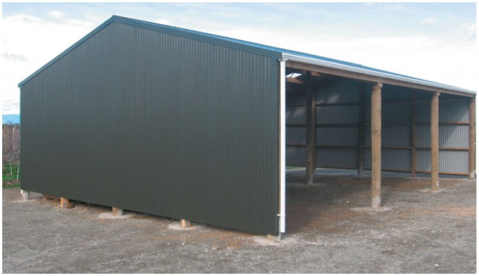 Farm shed building plans for 3 bay shed