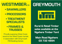 Ngahere Mill - Timber off site sales