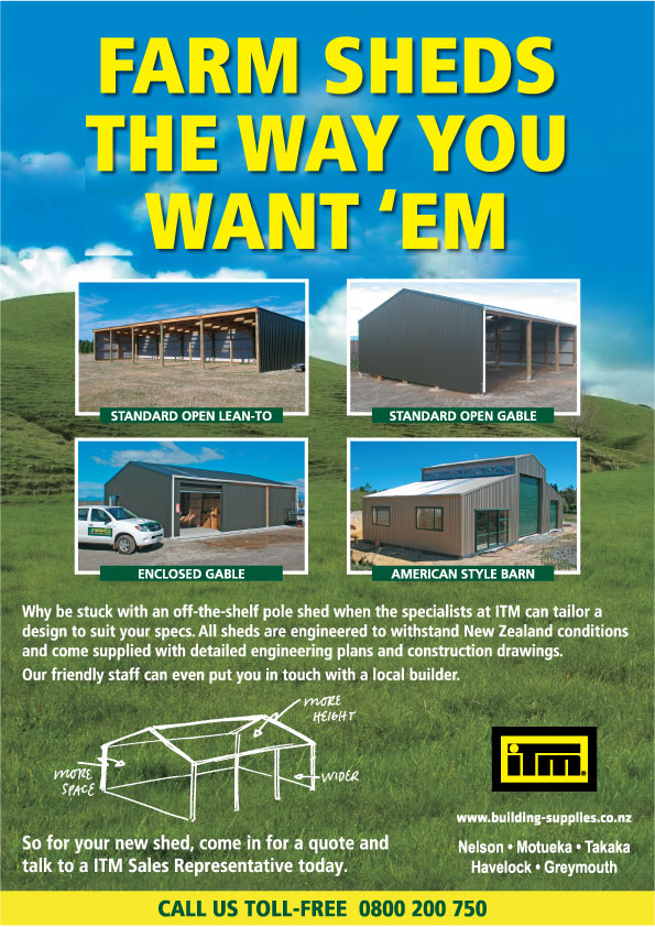 ITM Farm Shed Poster
