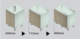 UNO cabinets