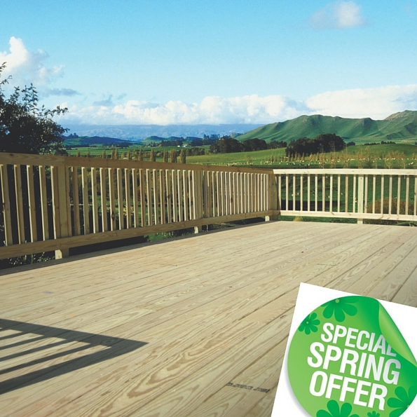 Decking - Special Spring Offers