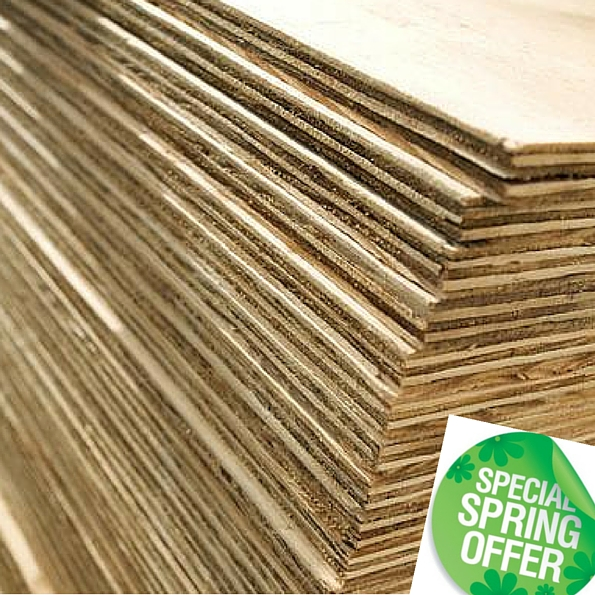 Plywood - Special Spring Offers