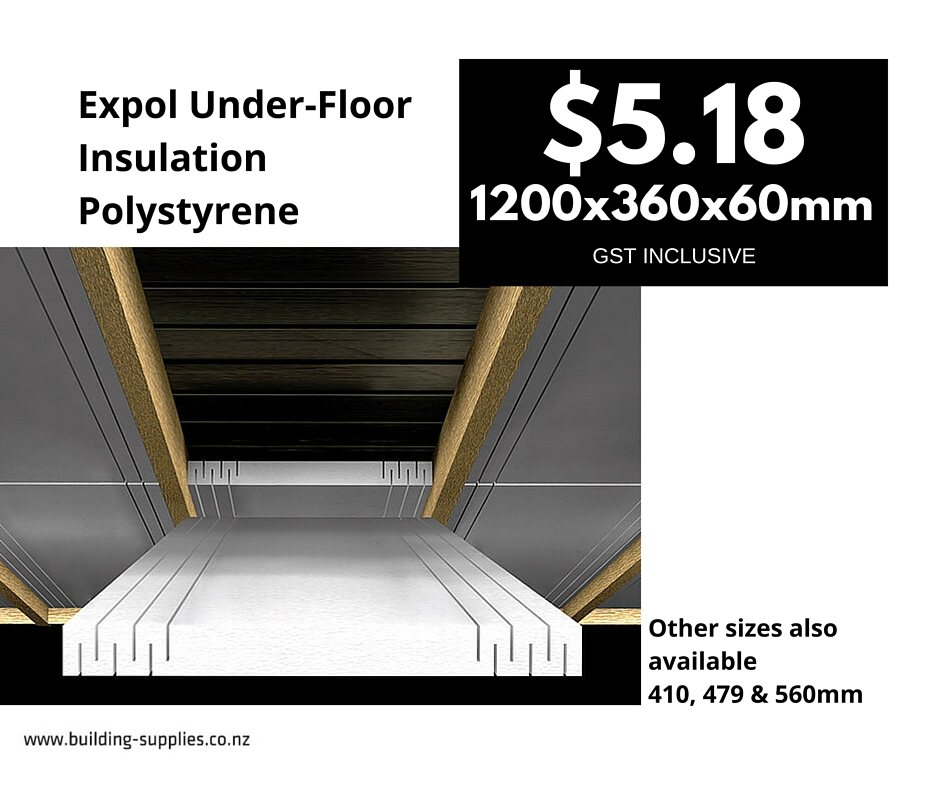 Expol Under-Floor Insulation Polystyrene