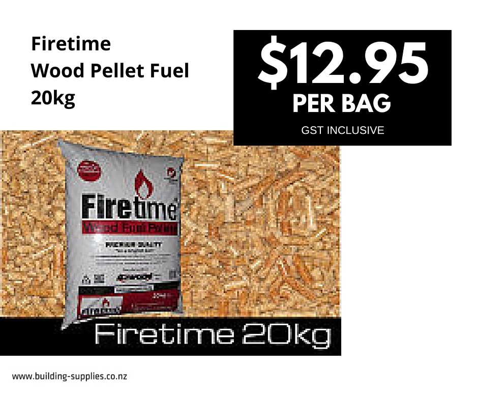 Firetime Wood Pellet Fuel 20kg bag