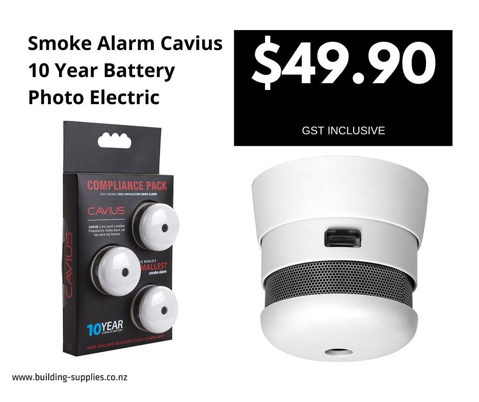 Smoke Alarm Cavius
