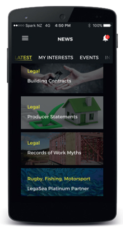 ITM App news