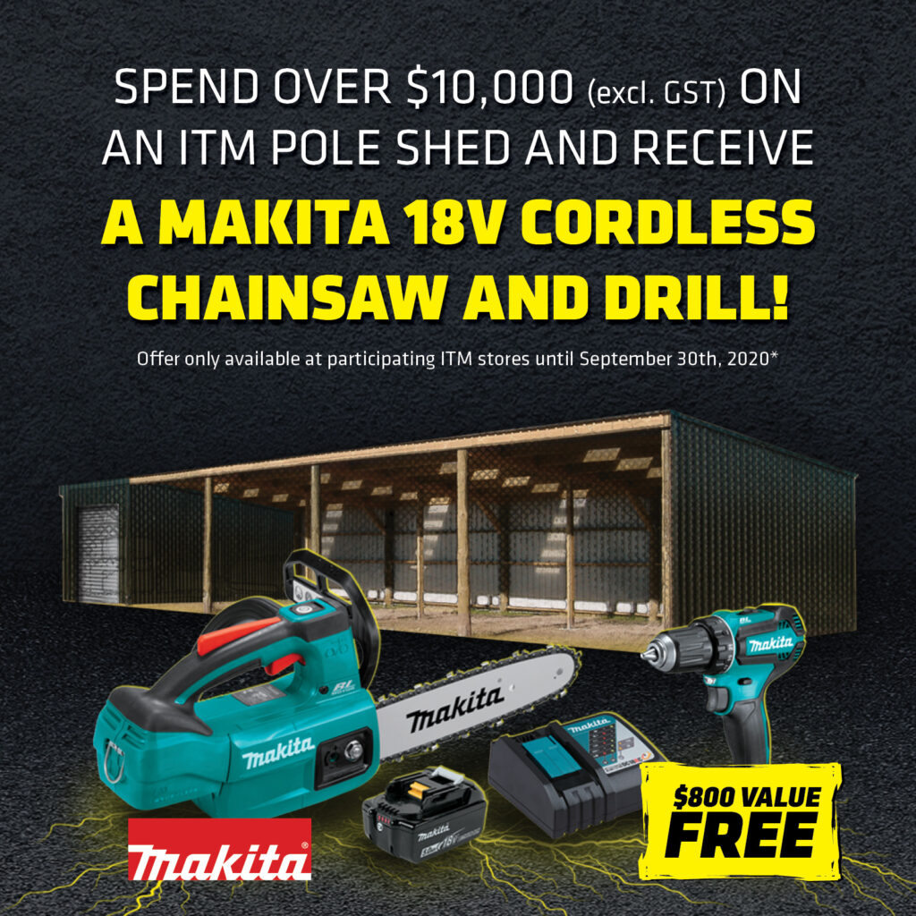 Makita Tool Shed Offer
